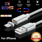 2.4a Magnetic Adapter Charger Usb Charging Cable For Apple Iphone 6 6s 7 Plus X