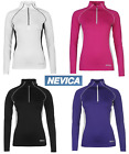 Ladies NEVICA Skiing Thermal Quarter Zip Top Warm Jumper Size 8-14 Mid Layer