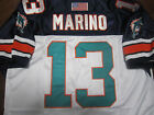 Miami Dolphins 13 Dan Marino 1994Throwback HOFPatch stitched two color Jersey