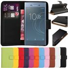 Kyпить Premium Leather Flip Wallet Case Cover For Sony Xperia XZ1 + Free Screen Guard на еВаy.соm