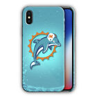 Miami Dolphins Case for Iphone X XS Max XR 11 Pro Cover Plus Other models n01 $16.95 USD on eBay