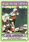 1980 Topps Football Singles #1-250 - Your Choice GOTBASEBALLCARDS $0.99 USD on eBay