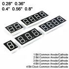 """0.28/0.36/0.4/0.56/0.8"""" Red led Display 7 Segment Common Cathode/Anode 1-4 Digit"""