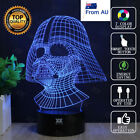 Star Wars Darth Vader 3D Acrylic LED Night Light 7 Color Table Desk Lamp Gift $22.98 AUD