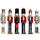 62CM XMAS CHRISTMAS TRADITIONAL STYLE NUTCRACKER WOODEN GUARD BALLET DECORATION