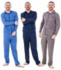 Mens Pyjama Sets Printed Cotton Classic Long Sleeve Nightwear Soft PJ's M to XXL