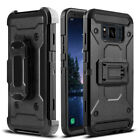 For Samsung Galaxy S8 Active Shockproof Kickstand Holster Belt Clip Case Cover