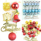 32PCS Christmas Ornaments Balls Drums Bells Baubles Xmas Tree Pendant Decor w