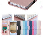 Luxury Ultra-thin Magnetic Leather Stand Card Wallet Flip Case For Samsung Phone