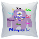 "Personalised White Cushions 18"" - Disney - Monster Inc"