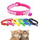 Breakaway Buckle Puppy Collars Bell With Reflective Collar Dog Pet
