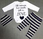 Baby Boy Girl Humour Outfit 3 Pieces Outfit Special Occasion Birthday Christmas