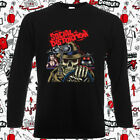 Social Distortion Tour Logo Punk Men's Long Sleeve Black T-Shirt Size S-3XL image