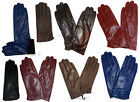 dressy gloves - New Ladies dressy stylish Leather Gloves Winter Gloves soft Warm Lined Leather*
