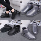 Fashion Women Lady Winter Warm Casual Ankle Snow Boots Shoes BK/37