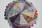 12 pcs / 6 pcs 28cm x 28cm check-pattern 100% cotton scallop-edged handkerchiefs