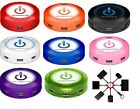 ChargeHub-SVP-X7 Super Value 7-Port Round USB Charging Station,8 Different Color