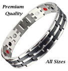 Mens Magnetic Healing Bracelet ALL SIZES Golf Gifts Birthday Gifts for Men-AR4