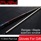 Maple Billiard Pool Cues Stick 11.5mm Tips Queue De Billard Taco De Sinuca