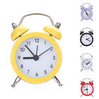 Retro Classic Double Bell Mechanical Keywound Alarm Clock for Home Office Exotic