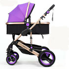 Baby Stroller  2 in 1 Carriage Infant Travel system Car Foldable Pram Pushchair