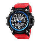30M Waterproof Mens Watches Luminous Calender Silicone Strap LED Sports Watch