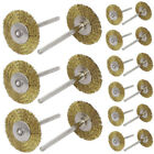 20pcs Brass Wire Wheel Brush Cleaner Polishing Power for Rotary Tools