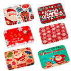 60x40cm Santa Door Floor Bathroom Mat Merry Christmas Rug Non Slip Home Decor