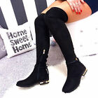 NEW LADIES  LACE UP WOMEN'S HIGH HEEL OVER KNEE BOOTS COLOUR BLACK BEIGE GREY