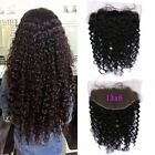 """13x6"""" Brazilian Frontal Loose Wave Full Lace Frontal  Closure Bleached Knots"""