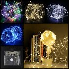 20/50 LED String Battery Copper Wire Fairy Lights Christmas Wedding Party Decor