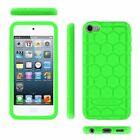 For Apple iPod Touch 6th Gen - iPod Touch 5th Gen Silicone Case Cover Shockproof