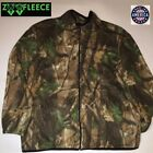 ZooFleece Snow Green Winter Camouflage Jacket Funny Sweater Unisex Hunting USA