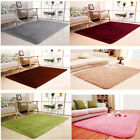 80x120 Fluffy Rugs Anti-Skid Area Rug Dining Room Carpet Home Bedroom Floor Mat