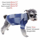 Pet Dog Cat Jeans Puppy Denim Coat Apparel Paw Design Velcro Comfy Shirt Jacket