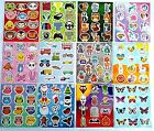 Childrens Sticker Sheets Party Loot Bag Fillers / Toys Various Designs & Qty's