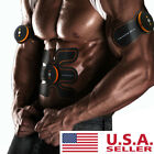 SHANDONG EMS Muscle Training Gear Abs Fit Body Exercise - BLACK AND ORANGE