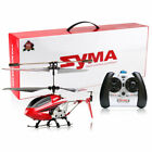 Kids Toy Syma S107W 3CH Remote Control RC Helicopter LED Light Xmas Gift