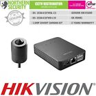 HIKVISION COVERT 1.3MP 8M P2P IP SECURITY CAMERA PINHOLE SECRET HIDDEN CCTV KIT