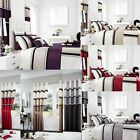 Panama Luxury Duvet Set/Fully Lined Curtains/Cushion Covers/Door Panel (209)
