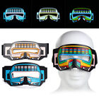 Внешний вид - Flashing LED Masquerade Eye Mask Light Up Cosplay Party Costume Decoration