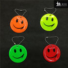 1/10/50 Smile face Reflective pendant for students school bag visibility safety