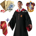 Helloween Cosplay Costume Robe AdultKid Party Cape Colak Tie Scarf+Letter Tattoo