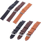 Replacement Leather Wrist Watch Strap Band Bracelet + Metal Buckle18mm/20mm/22mm