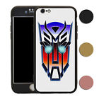 Transformers 360° Shockproof Case & Tempered Glass Cover For iPhone - T2778