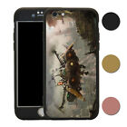 Steampunk Ship 360° Shockproof Case & Tempered Glass Cover For iPhone - T2703