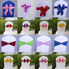 Seat Chair Cover Bow Reception Banquet for Wedding Party Birthday Decor