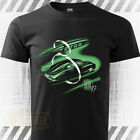 TATRA 87 auto streamlined car T-Shirt Mens Short Sleeve Black