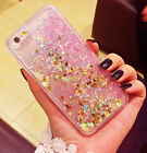 Luxury Glitter Stars Liquid Back Phone Case Cover for Apple iphone 5/SE/6/6s+/ 7