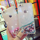 iphone 5 phone cases - Luxury Glitter Stars Liquid Back Phone Case Cover for Apple iphone 5/SE/6/6s+/ 7